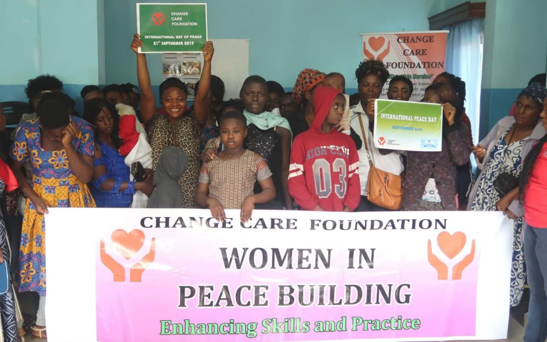 International Day Of Peace 2019 – Change Care Foundation Event